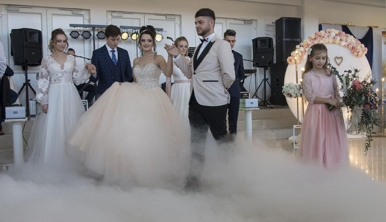 Hőlégballonnal az esküvődön