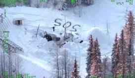 Három hét után mentettek ki egy férfit az alaszkai vadonból
