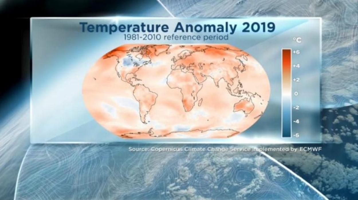 Majdnem mindenhol melegedést hozott 2019