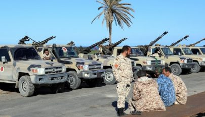 Elindultak Líbiába a török katonák