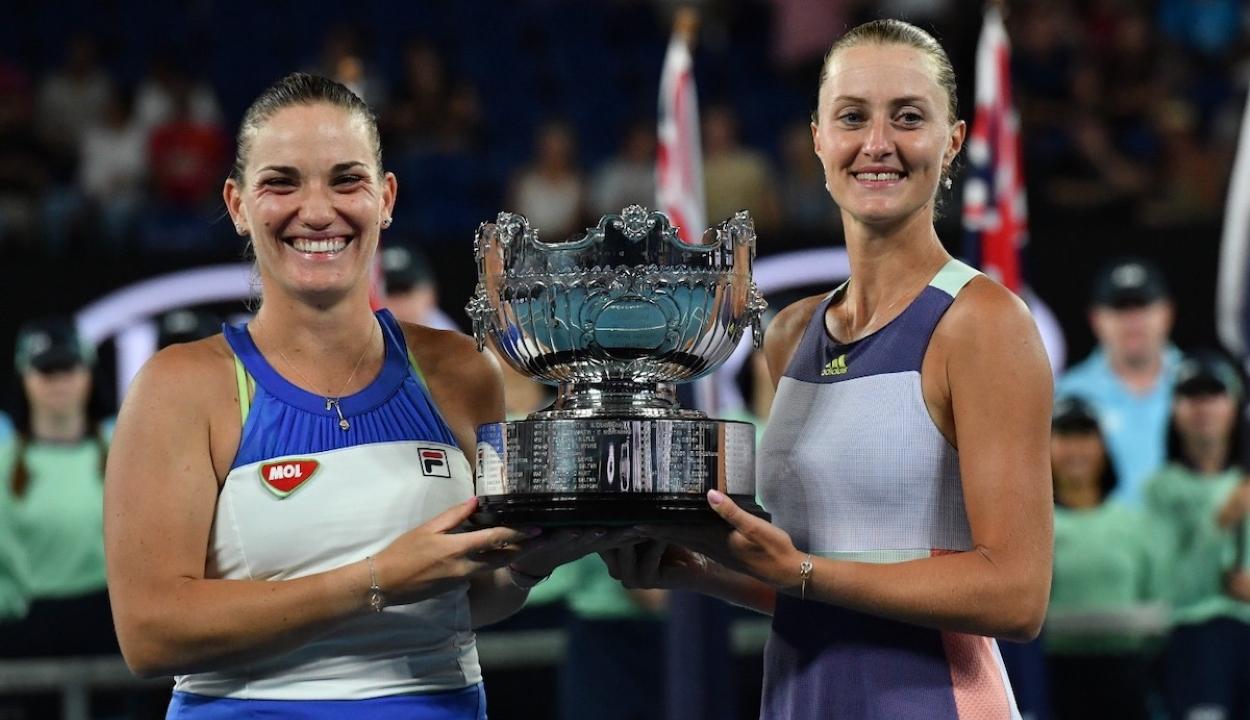 Australian Open: Babos Tímeáék nyerték a női párosok versenyét
