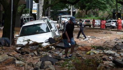 Továbbra is felhőszakadások, áradások, földcsuszamlások sújtják Brazíliát