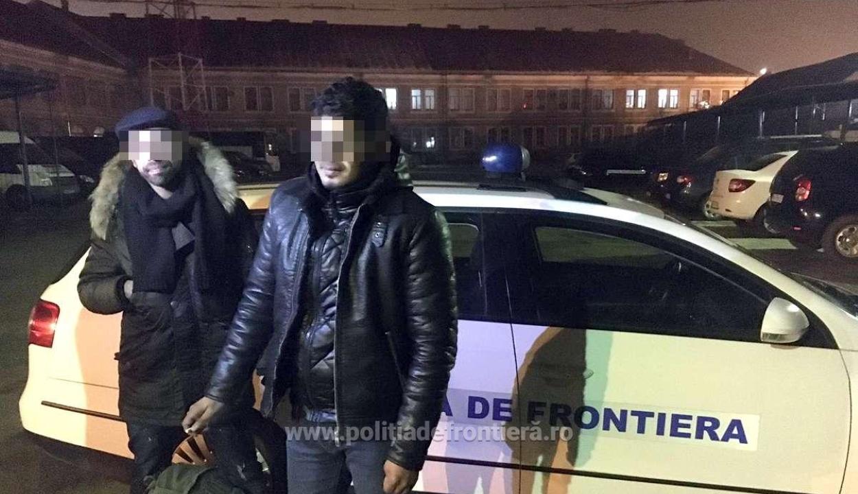 Figyelmeztető lövésekkel állítottak meg a határrendészek két határsértőt a román-magyar határon