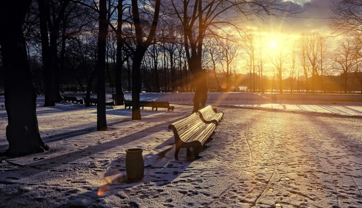 Hideg napokkal kezdődik december, majd enyhe felmelegedés várható