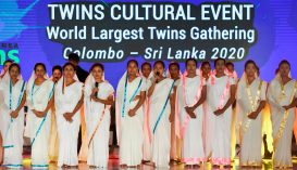 Túl sokan mentek el a világrekord-kísérlet miatt az ikertalálkozóra Sri Lankán