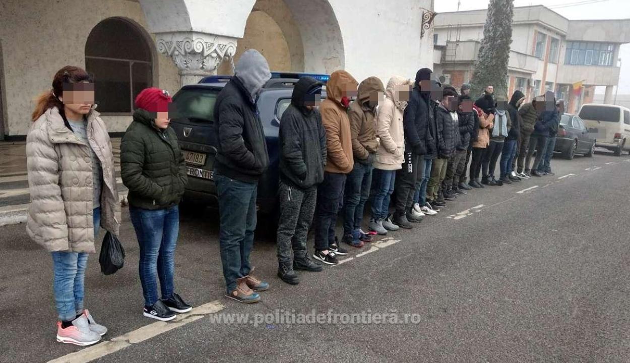 Egy nap alatt 19 illegális határátlépőt tartóztattak fel a román-magyar határnál