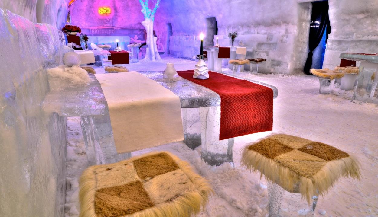 Idén nem épül meg a jéghotel a Fogarasi-havasokban