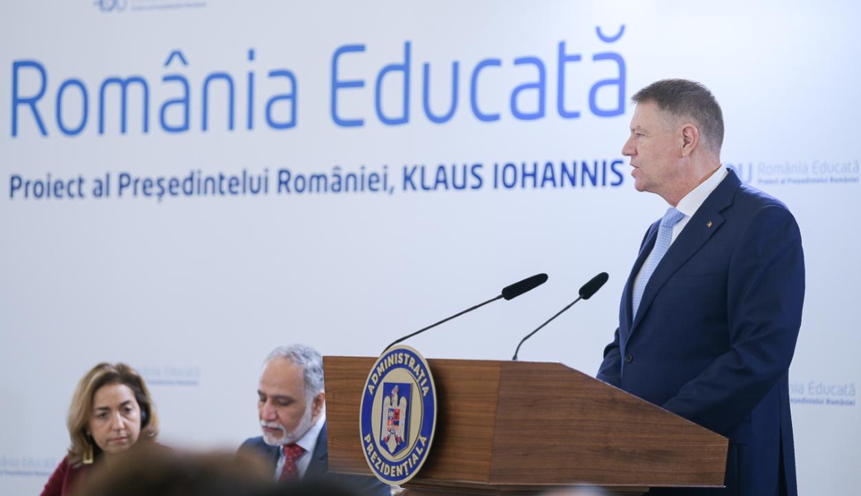 Johannis: nem tudjuk egyik napról a másikra megoldani az oktatás valamennyi problémáját