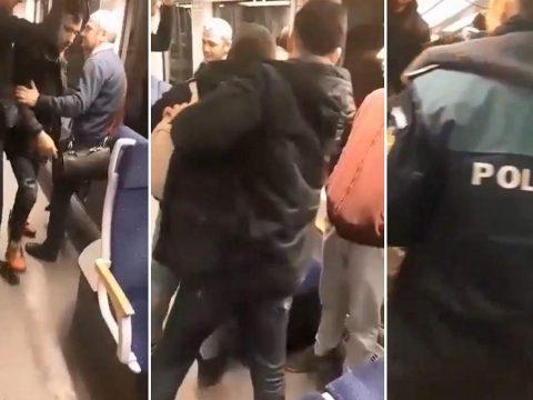 Bevándorlók támadták meg a kalauzt egy romániai vonaton