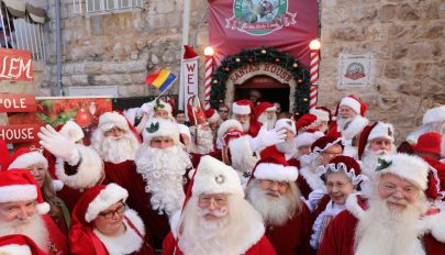Mikulás-világtalálkozót tartanak Izraelben