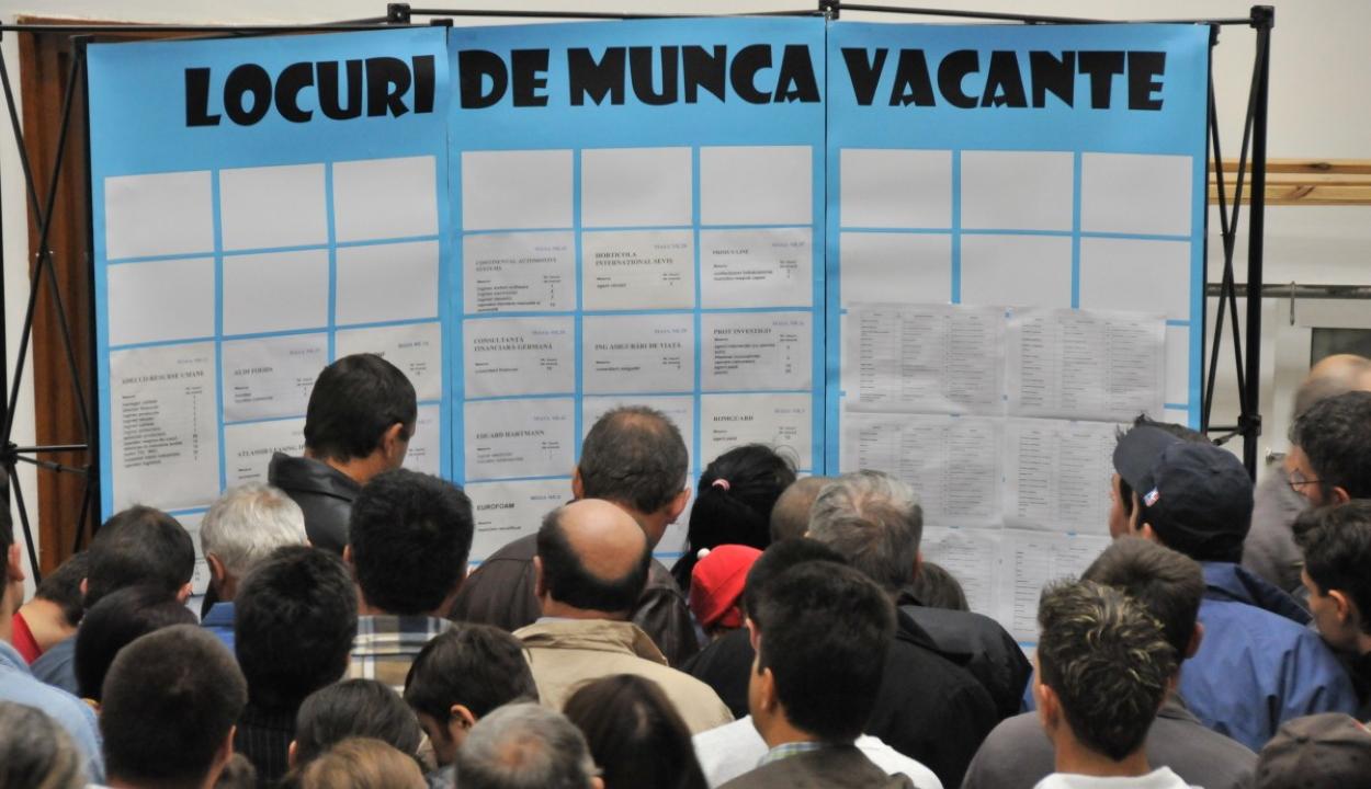4,8 százalékra nőtt a munkanélküliségi ráta áprilisban