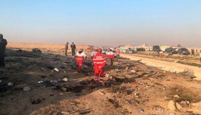 Lezuhant egy ukrán repülő Iránban, több mint 180 emberrel a fedélzetén