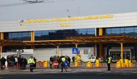 Koronavírus-gyanú miatt kórházba szállítottak egy nőt, aki repülőn érkezett Kolozsvárra