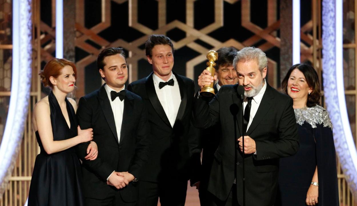 Az 1917 kapta a legjobb film díját a Golden Globe-on