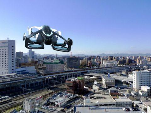 Már 2023-ban piacra kerülhet a világ legkisebb repülő személyautója