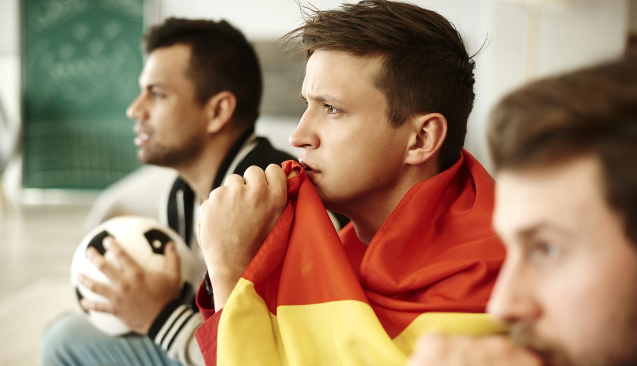 Az elkötelezett focirajongók veszélyes mértékű stresszt élnek meg