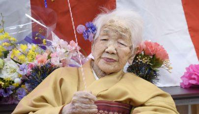 Betöltötte 117. életévét a világ legidősebb embere
