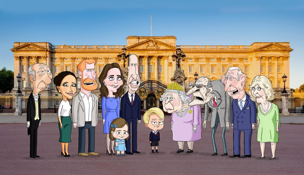 A brit uralkodócsaládról készül animációs sorozat