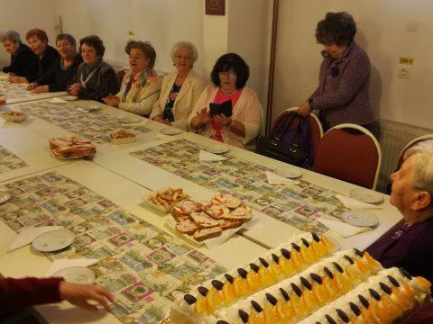 Ötéves a szentgyörgyi nyugdíjas-kör