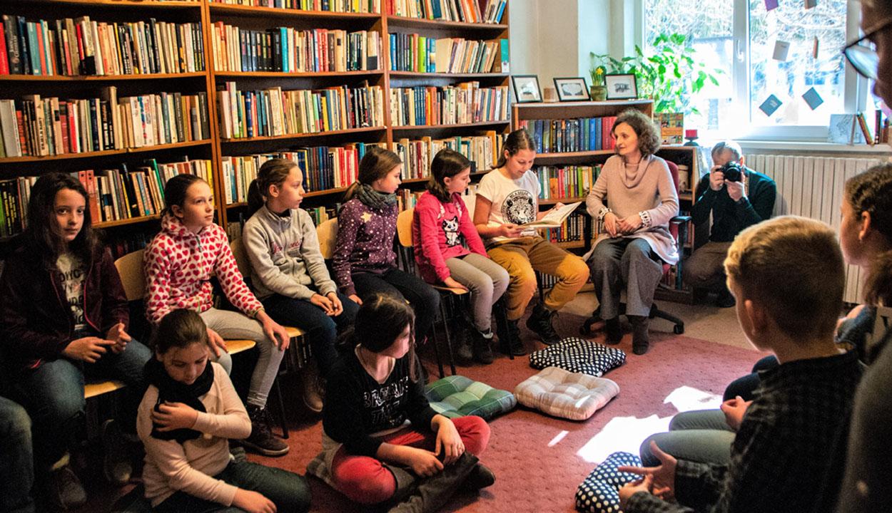József Attilát olvastak a diákok