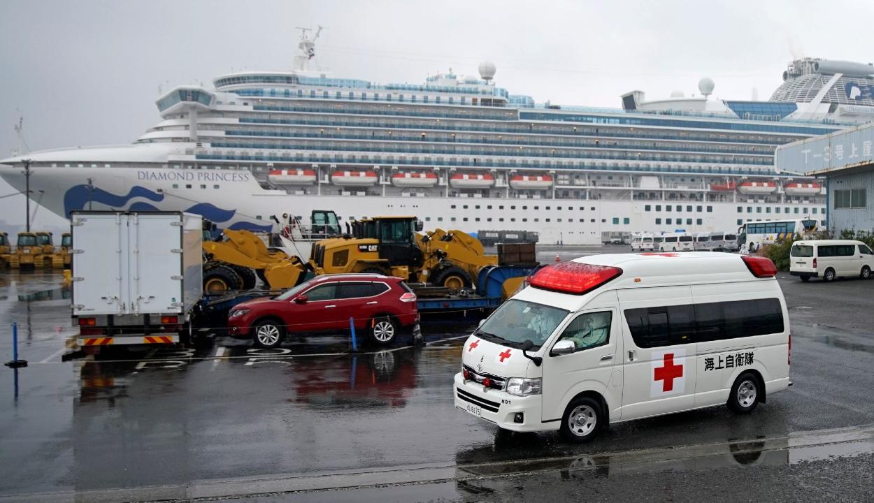 Koronavírussal fertőződött meg egy magyar a Diamond Princess fedélzetén