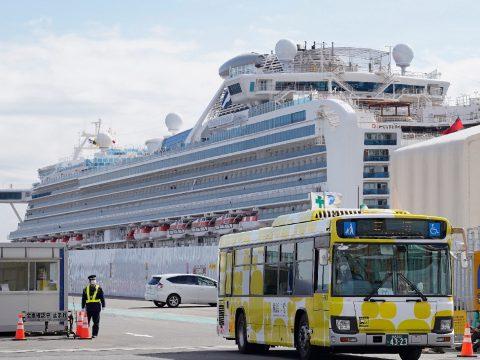 Koronavírus: elhagyhatják az utasok a Diamond Princess üdülőhajót