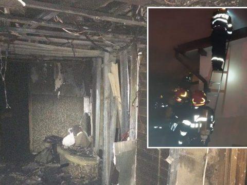 Tűz ütött ki Szebenjuharoson egy szállodában, több mint száz embert kellett kimenekíteni