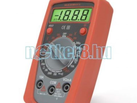 A villanyszerelők legnagyobb segítsége, a multiméter