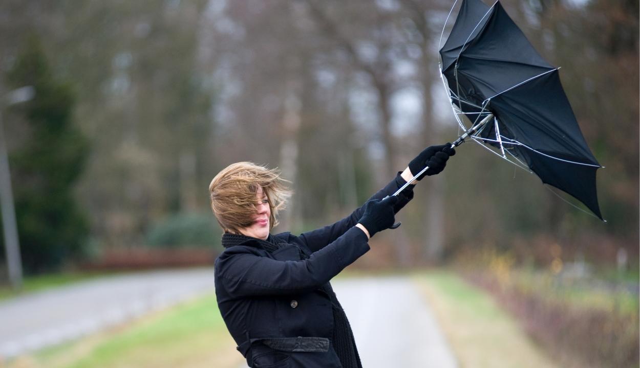 Meteorológiai előrejelzés: országszerte felerősödik a szél