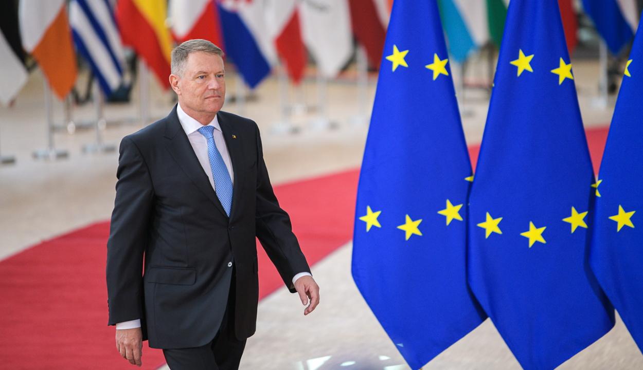 Az Európai Bizottság, valamint az Európai Tanács elnökével is találkozott Klaus Johannis