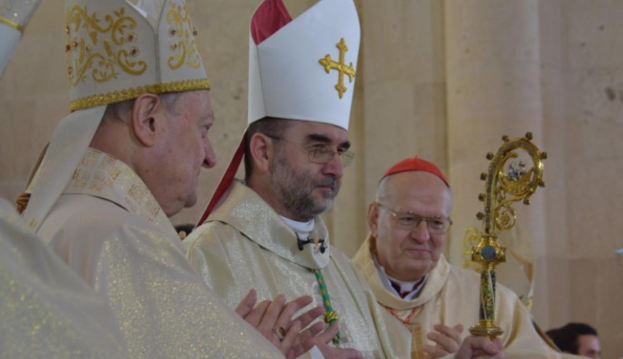 Püspökké szentelték és hivatalába iktatták Kovács Gergely érseket