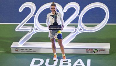 Megnyerte Simona Halep a dubaji tenisztornát