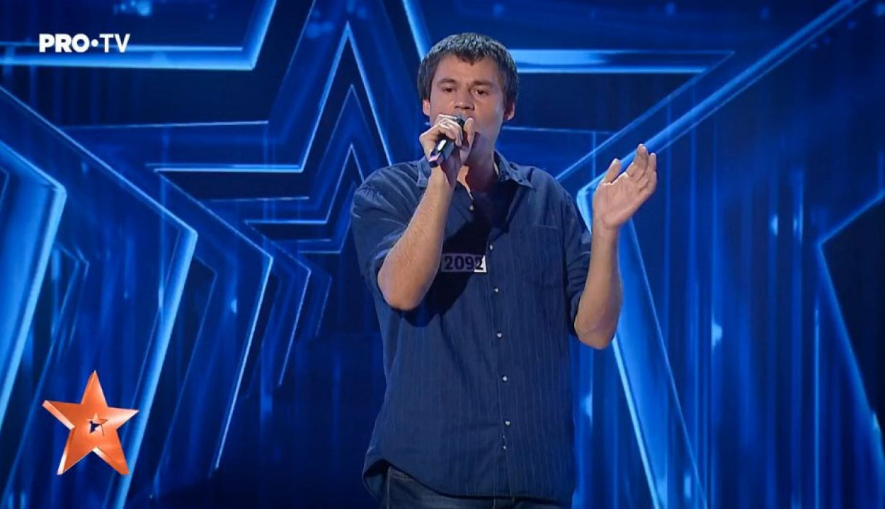 Egyenesen az élő showba jutott a nagyváradi magyar férfi