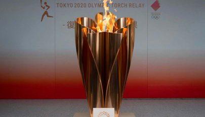 Az olimpiai láng a fény az alagút végén