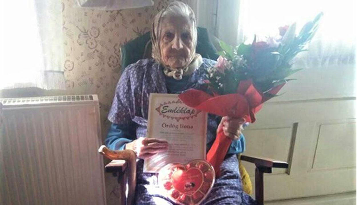102 évest köszöntöttek