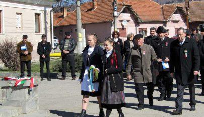 Bereckben is megünnepelték a magyar szabadság napját