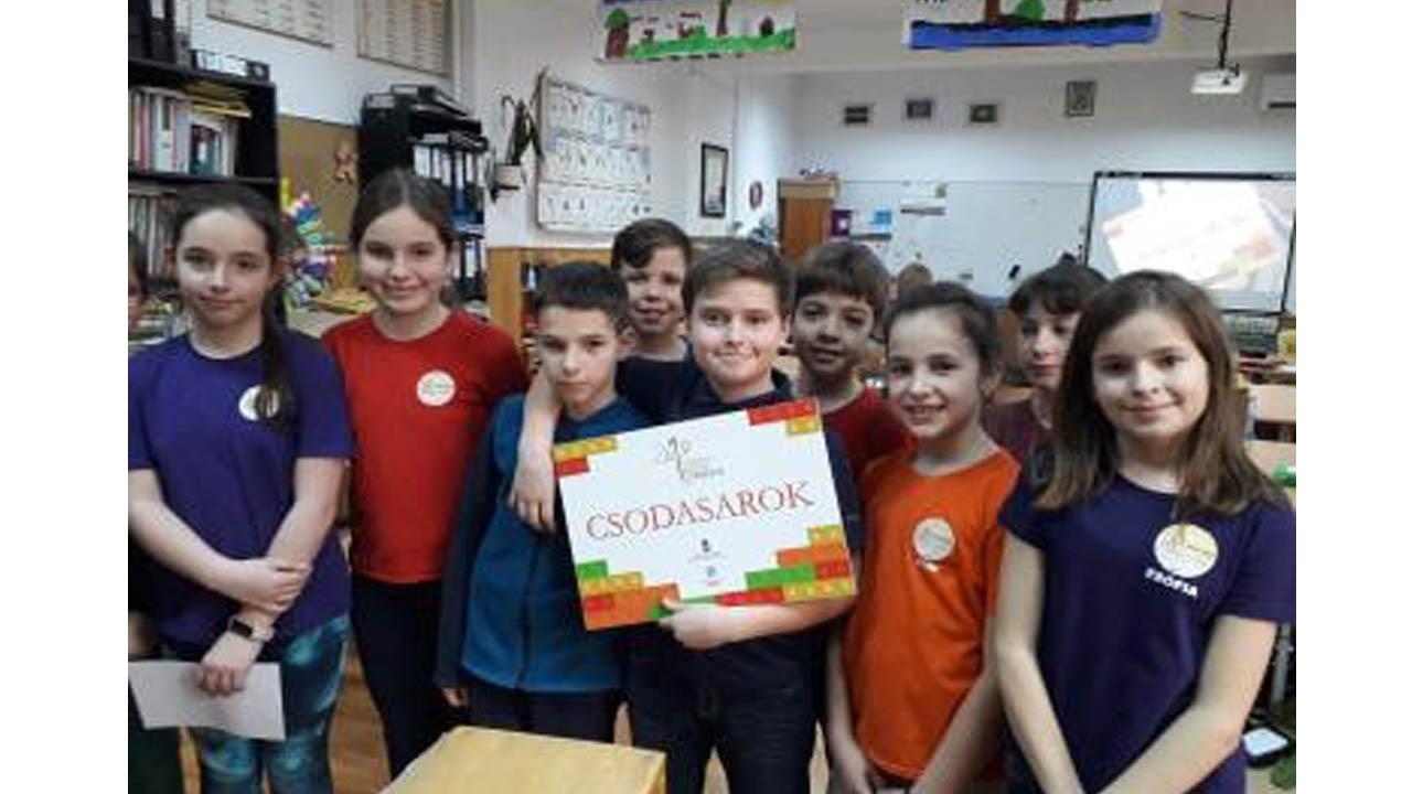 Csodasarkot nyertek a Józsiás-iskolások