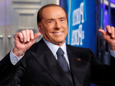 Berlusconi elmenekült a koronavírus elől