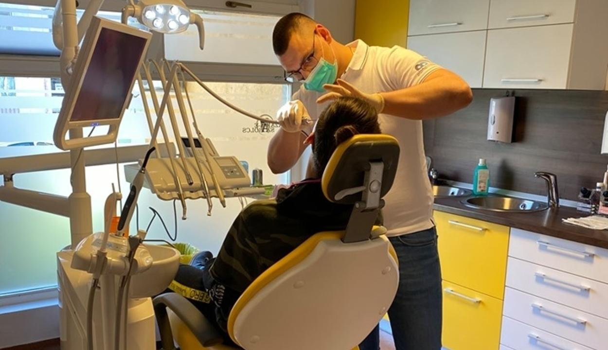 Megoldották a fogászat működését