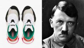 Ön látja a hasonlóságot a Puma cipője és Adolf Hitler között?