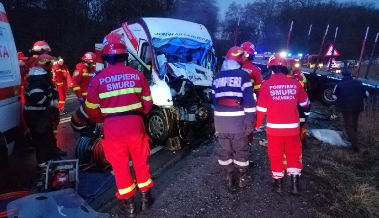 Kovászna megyei sofőr okozott halálos balesetet Szeben megyében