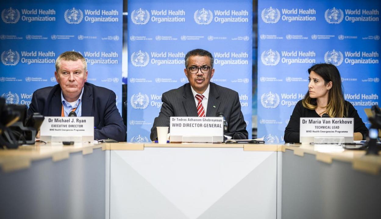 WHO: a fertőzés exponenciálisan terjed