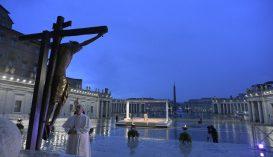 Ferenc pápa: azt gondoltuk, örökre egészségesek maradunk a beteg világban