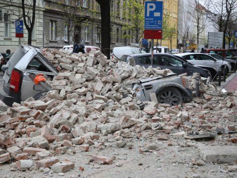 Többen megsérültek egy földrengésben Zágrábban