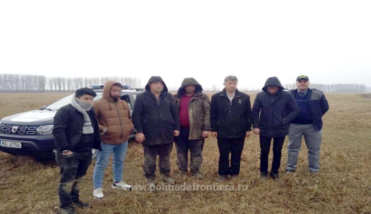 Moldovából gumicsónakon érkező határsértőket tartóztattak fel a határrendészek