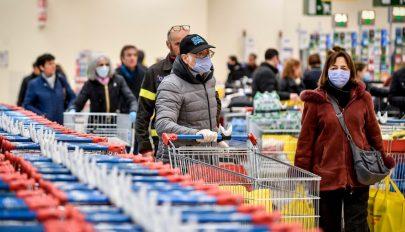 Koronavírus: 133 halálos áldozatot regisztráltak 24 óra alatt Olaszországban