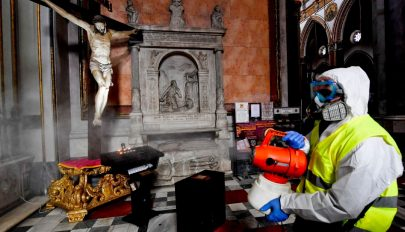 Koronavírus: egész Olaszországot lezárják