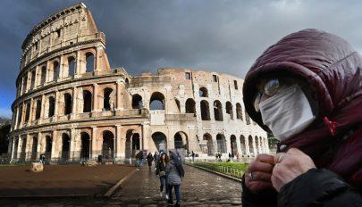 Koronavírus: csaknem 170-nel nőtt a halálos áldozatok száma egy nap alatt Olaszországban