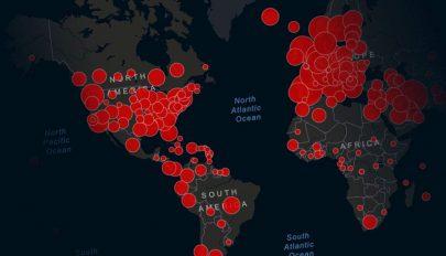 Koronavírus: túllépte a nyolcmilliót a fertőzöttek száma világszerte