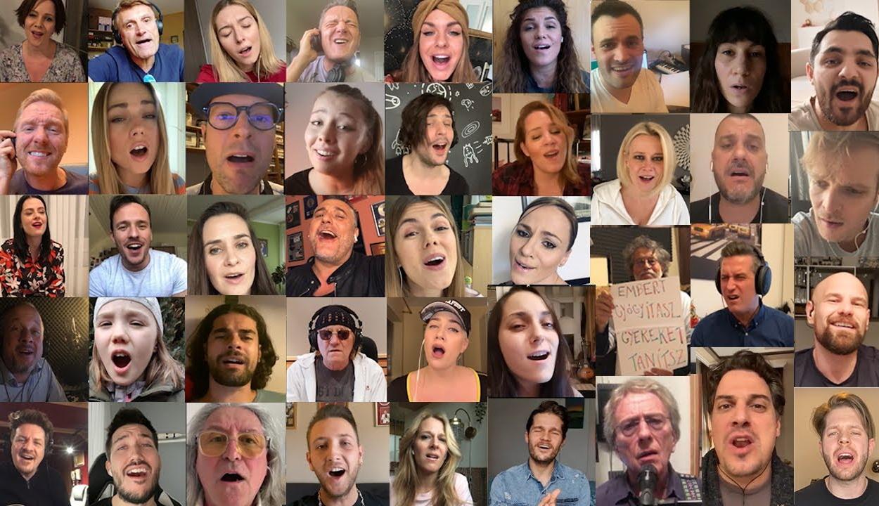 LGT-slágerrel mondanak köszönetet magyar zenészek